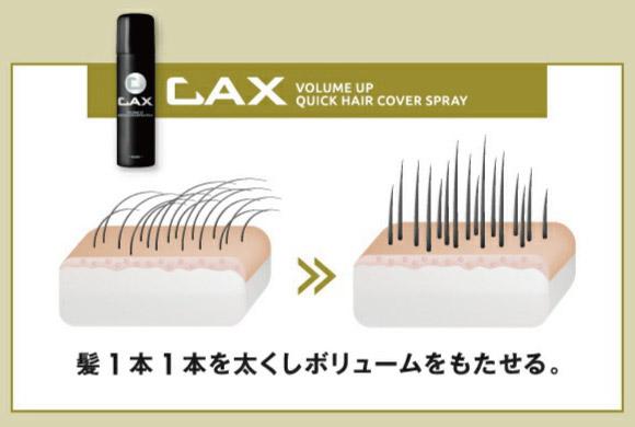 CAX(カックス)はベタつかず使用感ナチュラル