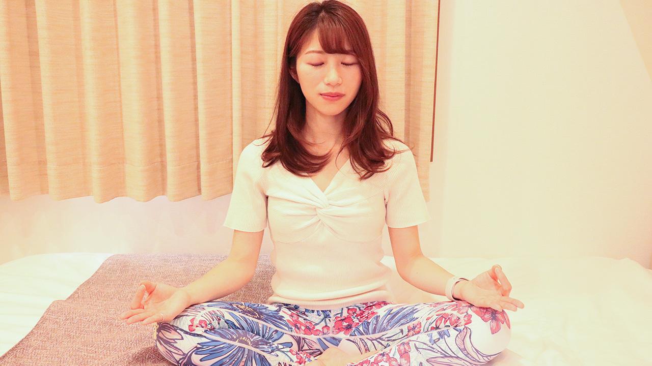 朝ヨガ・夜ヨガは瞑想を取り入れるとさらに効果的